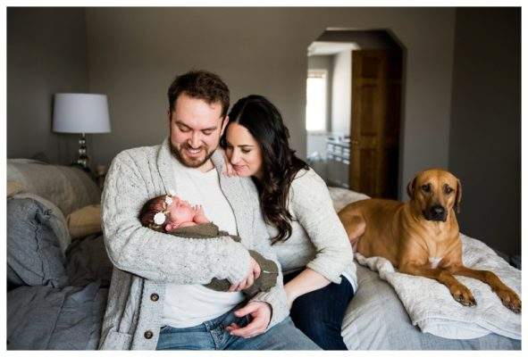 Cochrane In Home Newborn Session | Baby Harlow | Cochrane Newborn Photographer
