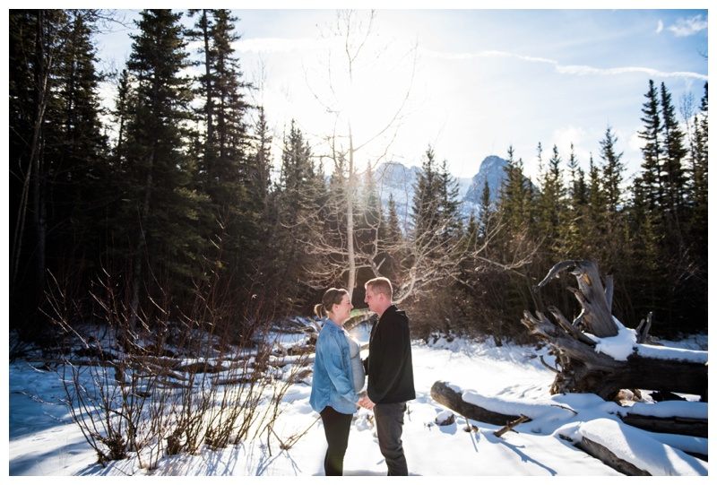 Rocky Mountain Maternity Photographer - Canmore