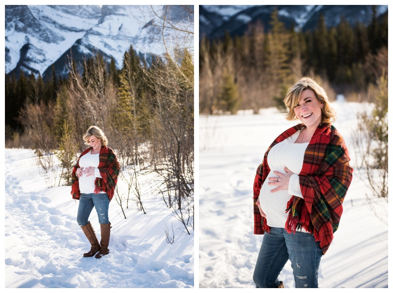 Rocky Mountain Maternity Photos Canmore