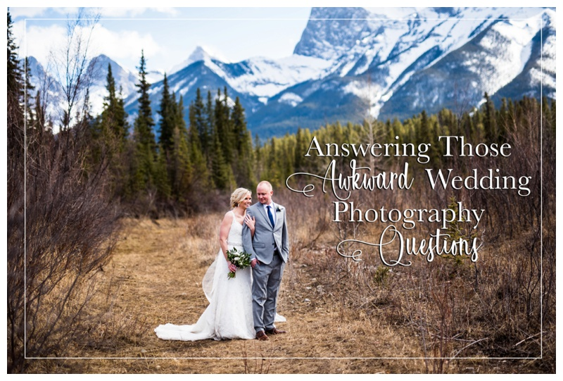 Answering Those Awkward Wedding Photography Questions