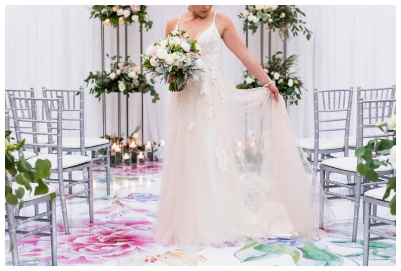 Blush and Raven Wedding Dress - Calgary