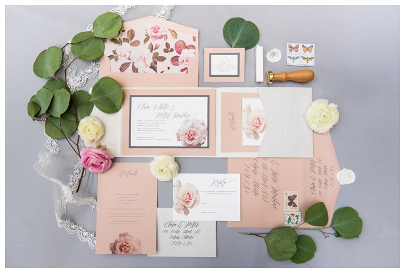 Calgary Wedding Stationary - Paper Panache