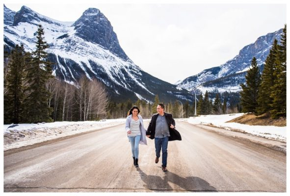 Rundleview Park Engagement Session | Thomas & Annie | Canmore Engagement Photographer