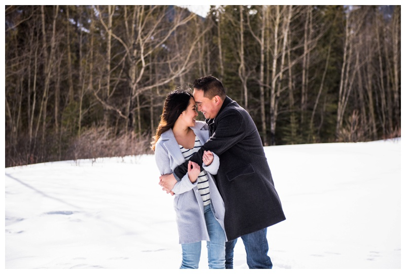 Canmore Engagement Session - Rundleview Park