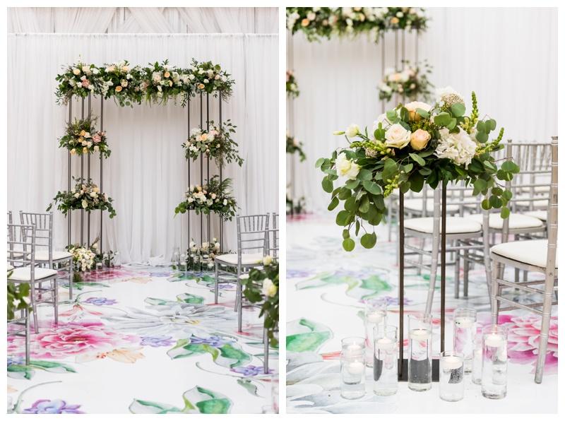 Creative Edge Flowers Wedding Ceremony