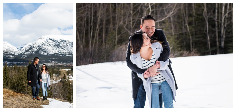 Engagement Photographer - Canmore Alberta