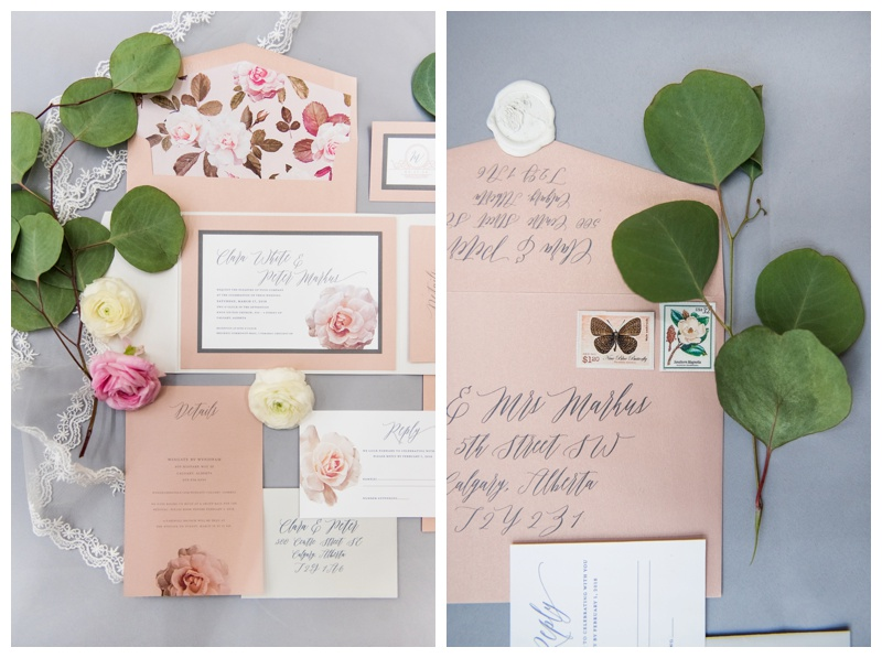 Paper Panache Wedding Invitation Suit