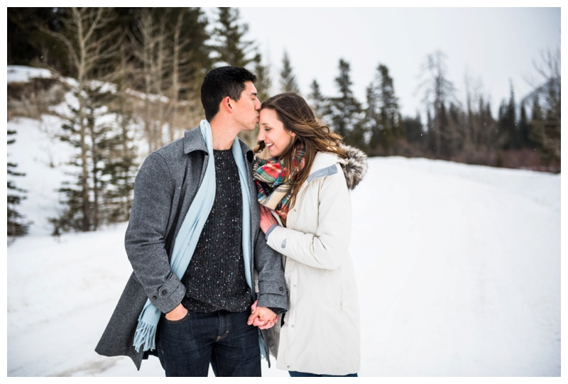Rocky Mountain Engagement Photographer Banff