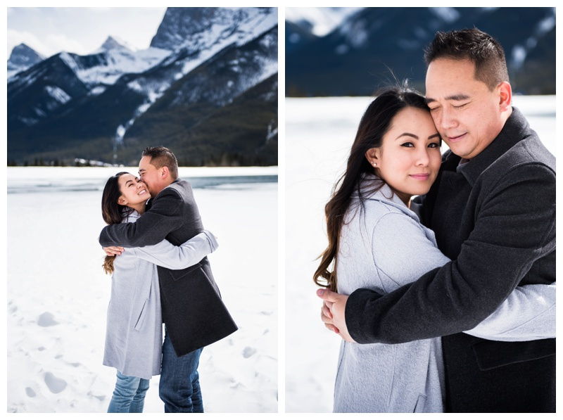 Rundleview Park Canmore Engagement Photos