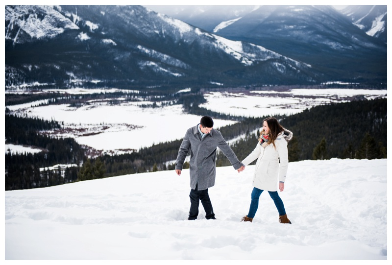 Wedding Proposal Banff