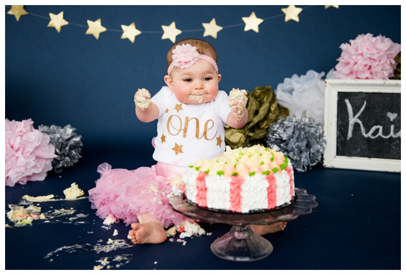 1st Birthday Cake Smash Calgary Alberta