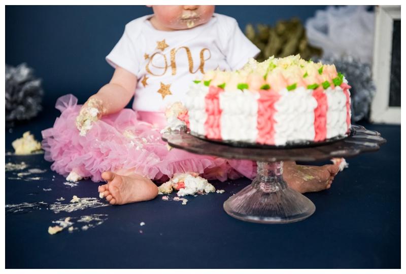 1st Birthday Cake Smash Calgary Photos