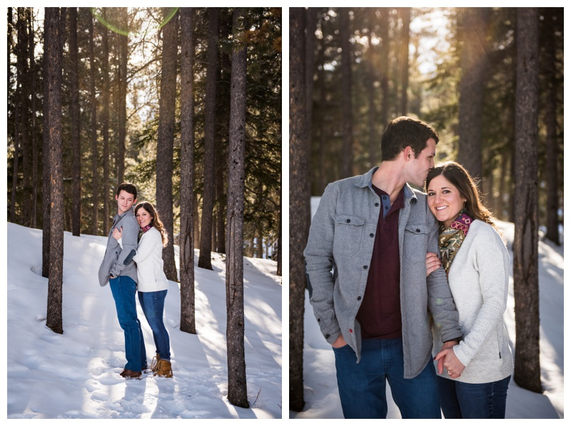Banff Engagement Photography Session
