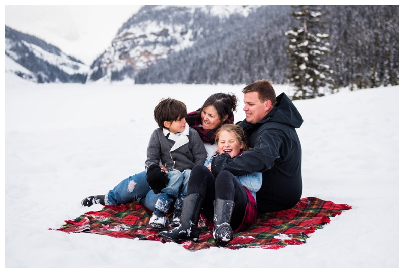 Banff Family Photos - Lake Louise