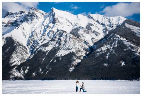 Banff Proposal Photography | Bryan & Monica Lee | Banff Photographer