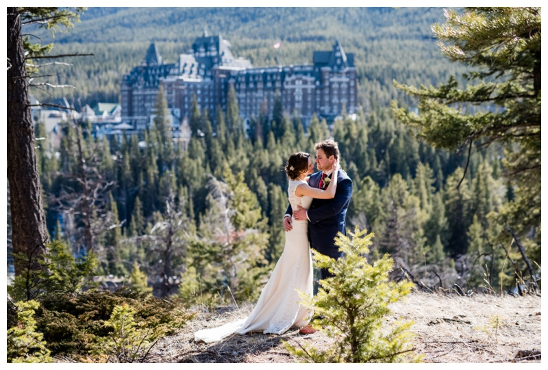 Banff Wedding Photographer - Suprise Corner Banff