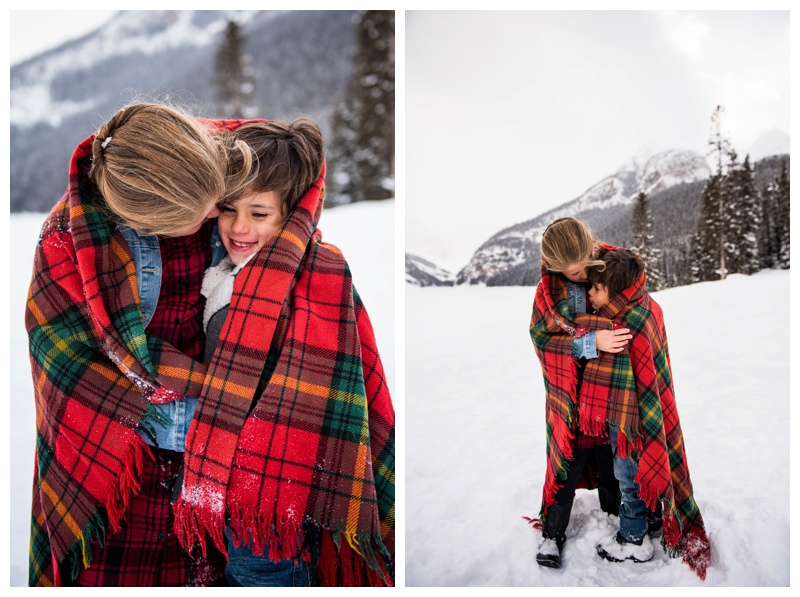 Banff Winter Family Photos