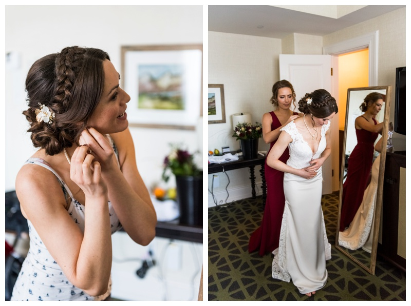 Fairmont Banff Spring Wedding Photos