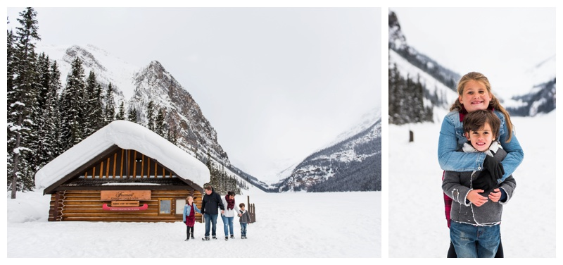 Family Photographer Lake Louise