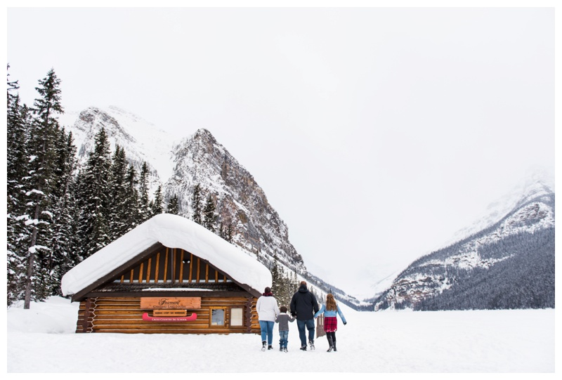 Family Photography Lake Louise - Banff Alberta