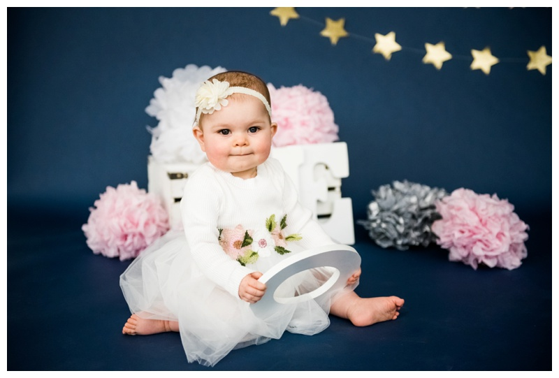 Twinkle Twinkle Little Star Calgary First Birthday Cake Smash