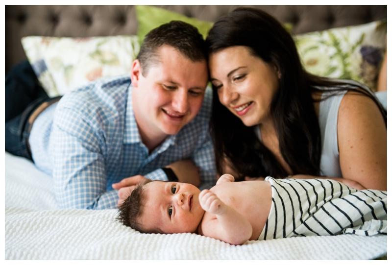At Home Newborn Session Calgary