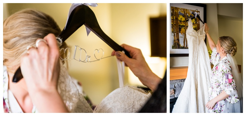 Bridal Prep Wedding Photography - Canmore Alberta