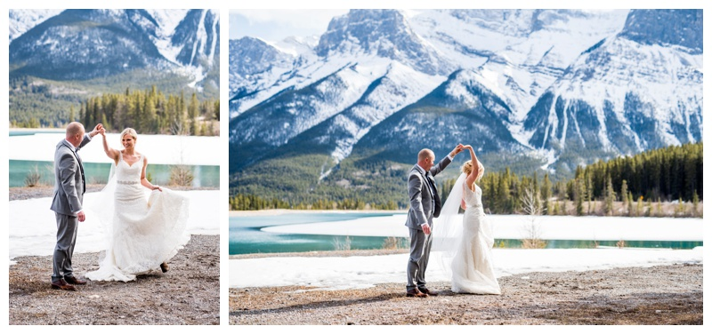 Canmore Spring Wedding Photography