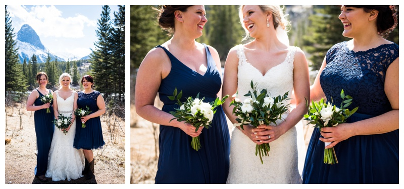 Canmore Wedding - Bridesmaid Photography