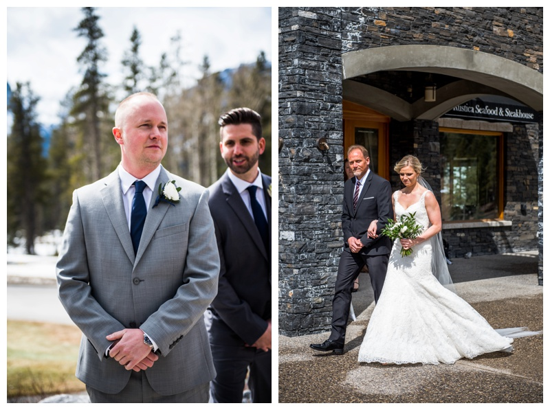 Canmore Wedding Ceremony - Silvertip Resort