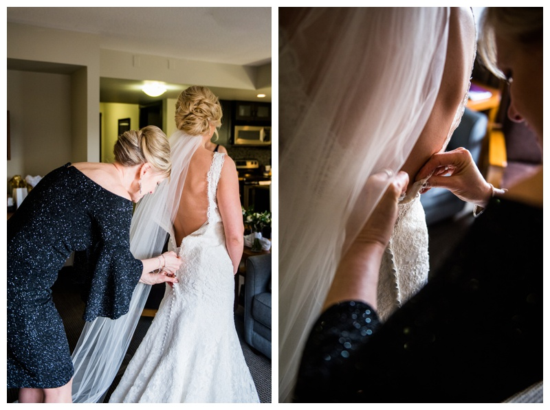Canmore Weddings - Bridal Prep