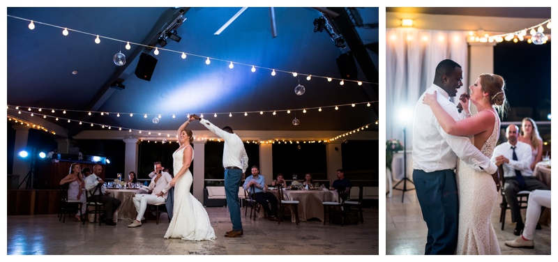 Dominican Republic Now Larimar Destination Wedding- First Dance