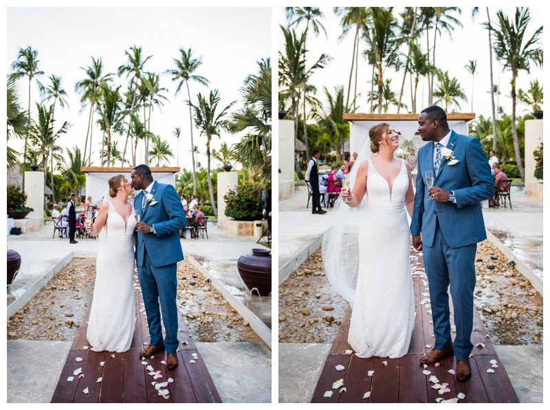 Dominicain Republic Now Larimar Destination Wedding- Wedding Ceremony Photography