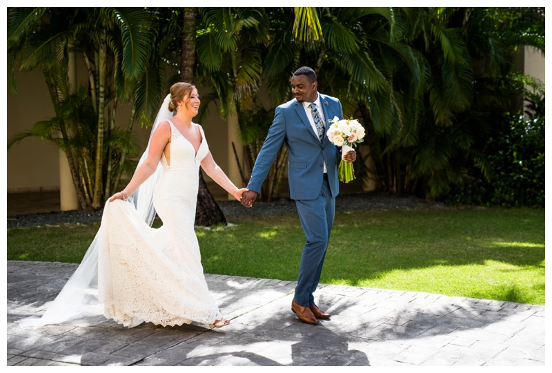Dominican Republic Destination Wedding - Bride & Groom Formals