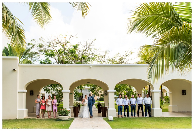 Dominican Republic Destination Wedding- Wedding Party Photography