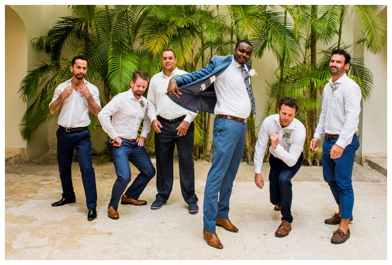 Groomsmen Photography -Now Larimar Destination Wedding Photography -