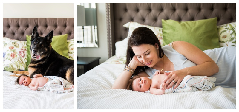 Lifestyle Newborn Photographer Calgary