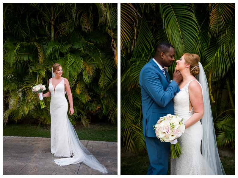 Now Larimar Destination Wedding - First Look Wedding Photos
