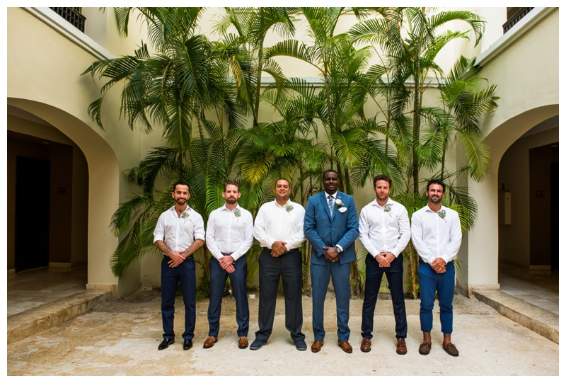 Now Larimar Destination Wedding Photography - Groomsmen Photos