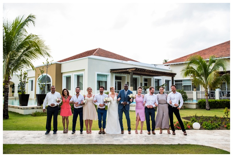 Now Larimar Destination Wedding Photography - Wedding Party Photos