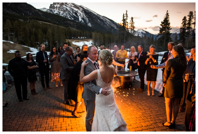 Rocky Mountain Wedding Canmore - First Dance