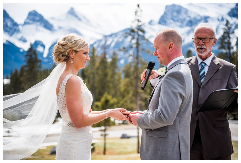 Silvertip Resort Wedding Canmore Alberta