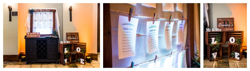 Silvertip Resort Wedding Reception