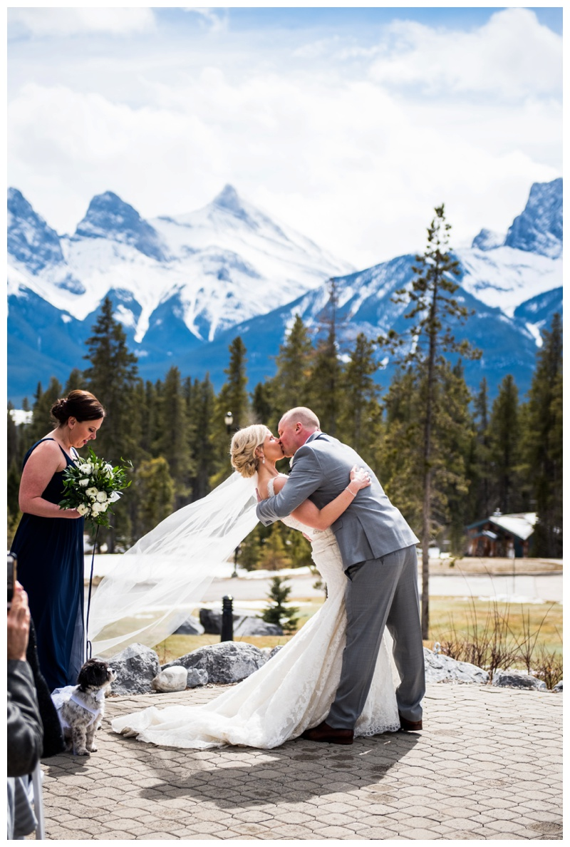 Wedding Ceremony Venue - Canmore Silvertip Golf Course