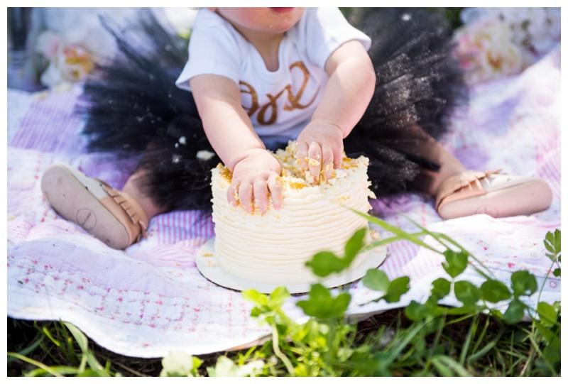 1st Birthday Cake Smash Calgary