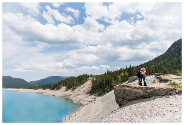 Barrier Lake Engagement Photos | John & Tamara | Canmore Wedding Photographer