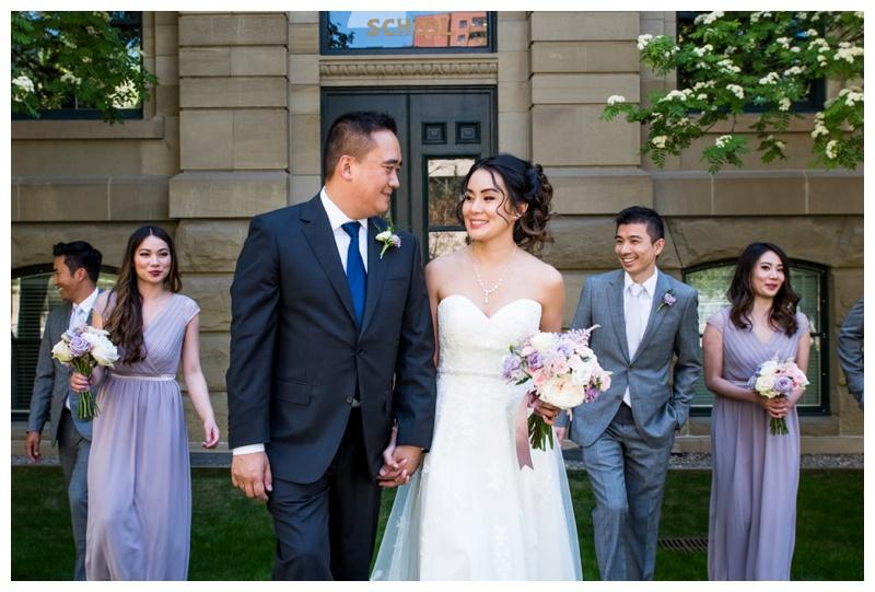 Bridal Party Photos - Calgary Wedding Photographer