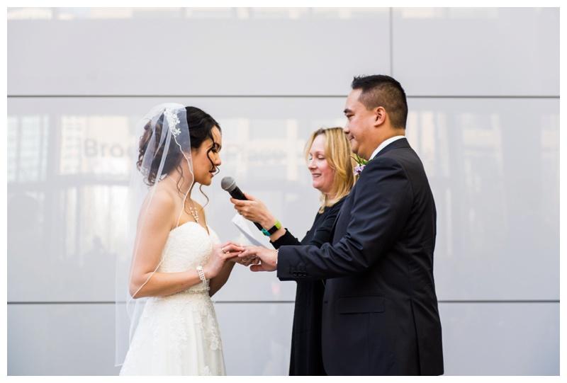 Brookfield Place Wedding - Calgary Alberta
