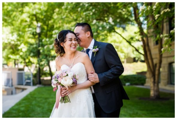 Calgary Brookfield Place Wedding | Thomas & Annie | Calgary Downtown Wedding Photography