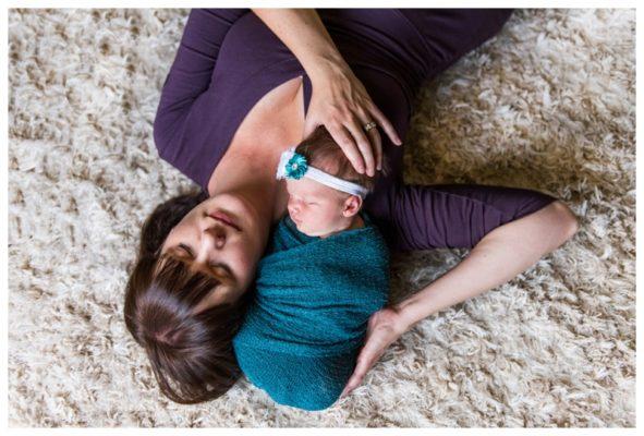 Marda Loop Lifestyle Newborn Session Calgary | Baby Ellie | Calgary Newborn Photos